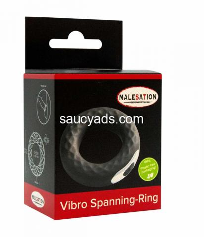 Stronger, Longer-Lasting Erections with Malesation Vibro Spanning Cock Ring - 5/5