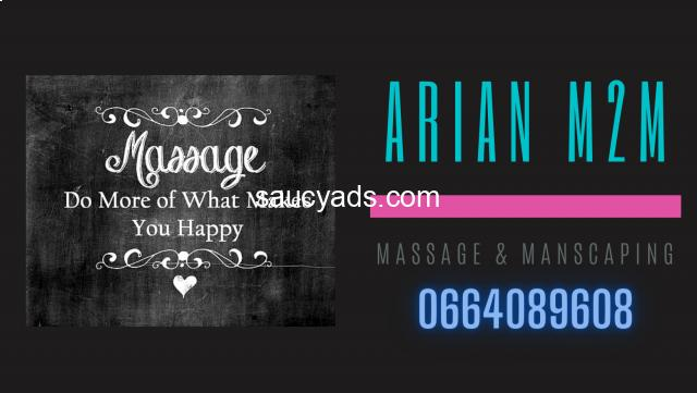 Arian M2M - Massage & Manscaping pamper sessions - 2/6