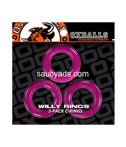 Oxballs Willy Cock Rings 3 Pack | Super Stretchy, Strong & Stackable | Buy for R145 - 6/9