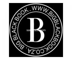 Big Black Book | Escort & Sensual Massage Therapists